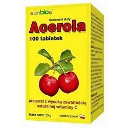 Acerola 100tabl./SANBIOS/