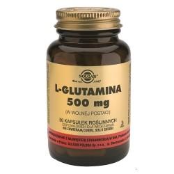 SOLGAR L-Glutamina 500mg 50kaps.