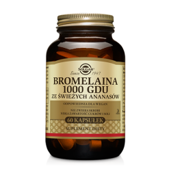 SOLGAR - Bromelaina 1000 GDU