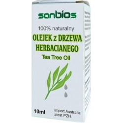 Olejek z drzewa herbacianego 10ml/SANBIOS/