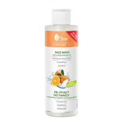 AVA - Żel myjący do twarzy z olejkiem z pomarańczy