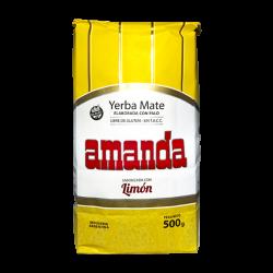 Yerba Mate amanda cytrynowa 0,5kg