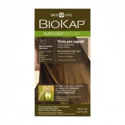 BIOKAP Delicato farba nr 7.0 średni naturalny blond
