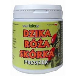 Dzika róża skórka proszek 200g /SANBIOS/