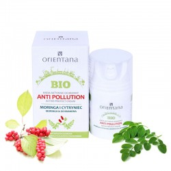 ORIENTANA - Krem aktywnie ochronny Anti-pollution Moringa i Cytryniec
