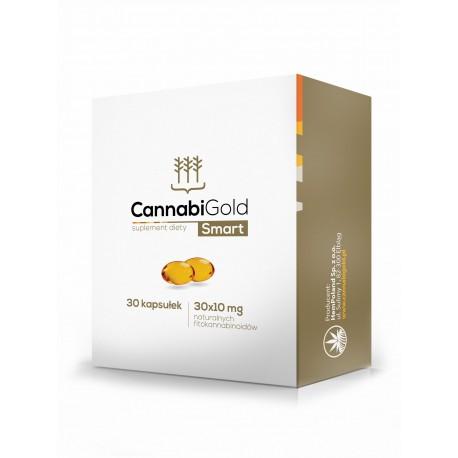 CannabiGold - Olejek CBD 30 kapsułek SMART