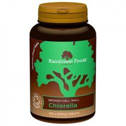 RainforestFoods - Chlorella Bio tabletki