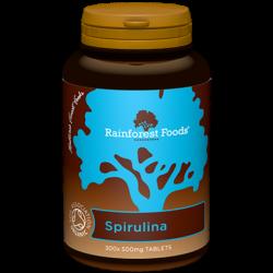 RainforestFoods - Spirulina BIO tabletki