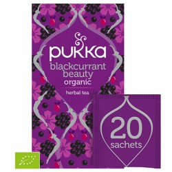 PUKKA - Herbata Blackcurrant Beauty BIO