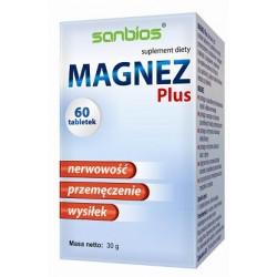 Magnez Plus 60tabl./SANBIOS/
